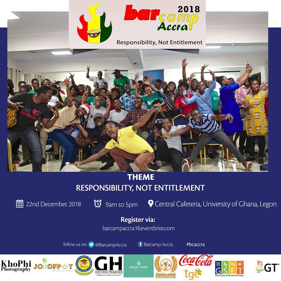 BarCamp Accra 2018- Responsibility not Entitlement - Tech